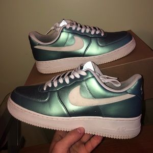 Fresh Mint Air Force 1's Size 9.5